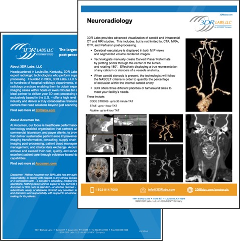 Image for Neuroradiology Protocols Overview