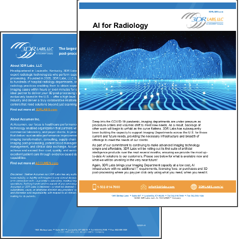 Image for AI for Radiology Overview